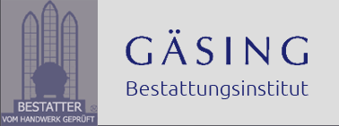 Herman Gäsing - Bestattungsinstitut - Logo